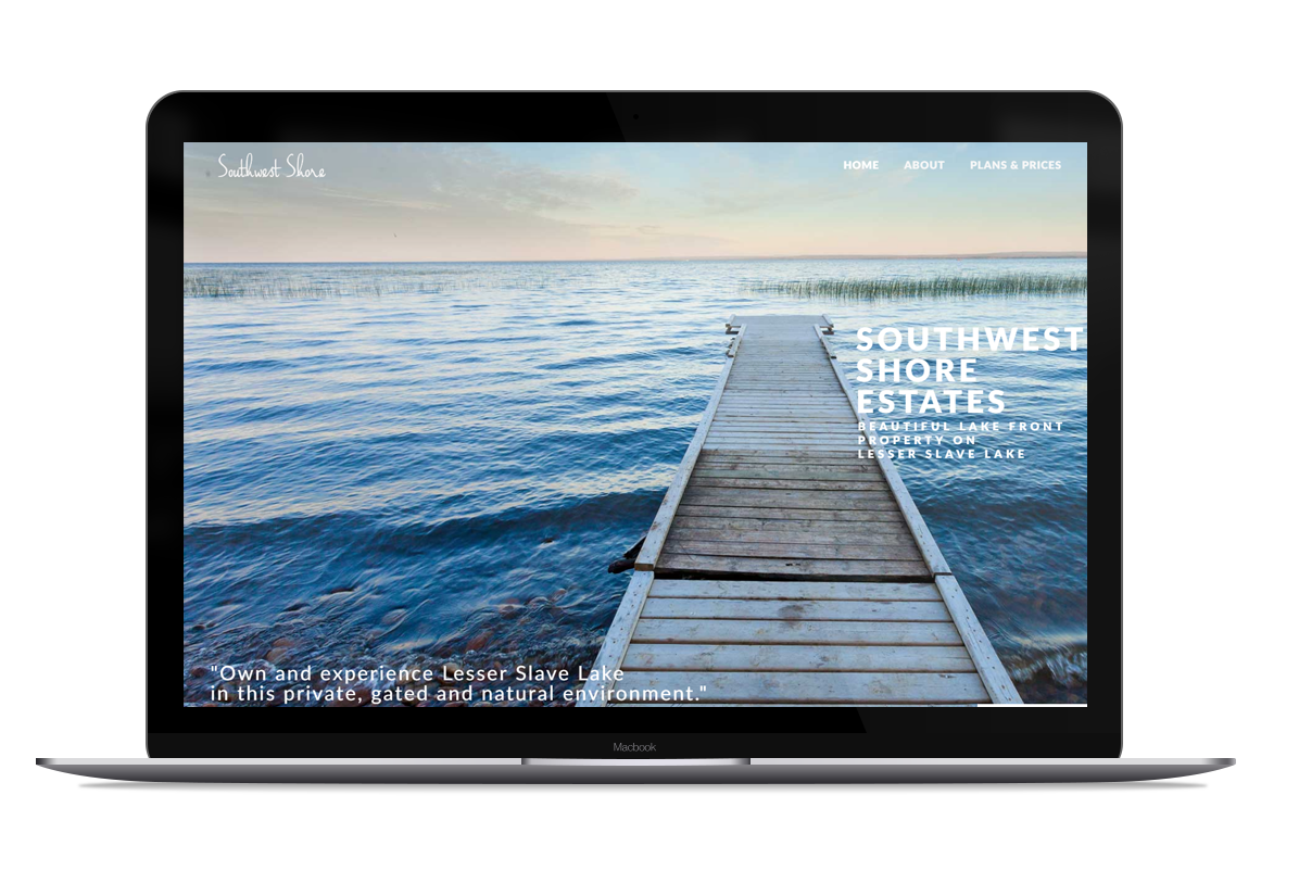 Website Design for Southwest Shore