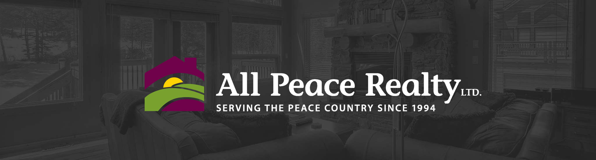 web design for All Peace Realty in Beaverlodge